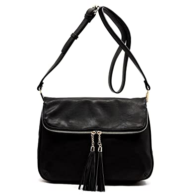Concealed Carry Purse - Daisy Lock Concealed Carry Messanger Bag- Black 49ab6c6c1c0a6