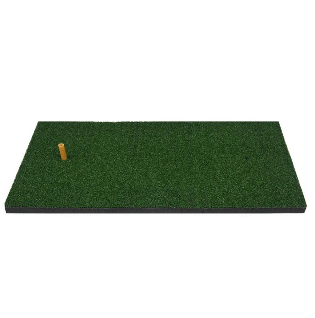 ZRXian-ゴルフマット ホーム ナイロン 芝生 ゴルフ パッティングマット ゴルフ トレーニング マット ゴルフ スイングマット ゴルフ フェアウェイ マット ゴルフ 練習 マット ゴルフボール ラバーティー 7040cm 裏庭 ゴルフマット   B07JRFQN18