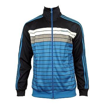 adidas original drei streifen sweater blau