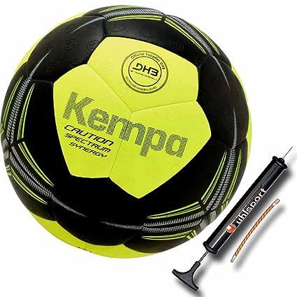 kempa- combinado Super Grip Negro/Amarillo + Balón Bomba: Amazon ...