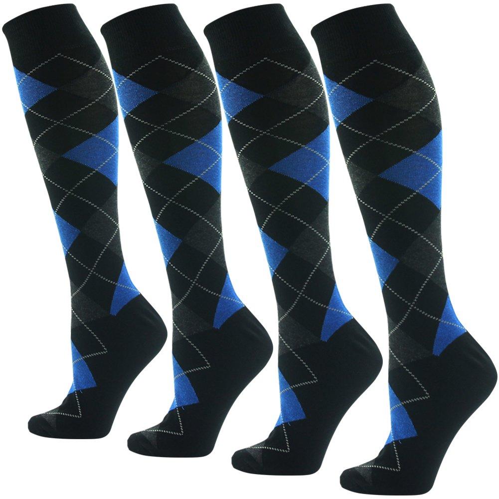 Suttos SOCKSHOSIERY メンズ レディース B07CTM9W12 Z Blue Z Black-4 Pair レディース B07CTM9W12 Z Blue Black-4 Pair, クリハシマチ:c3899c0f --- mail.tastykhabar.com