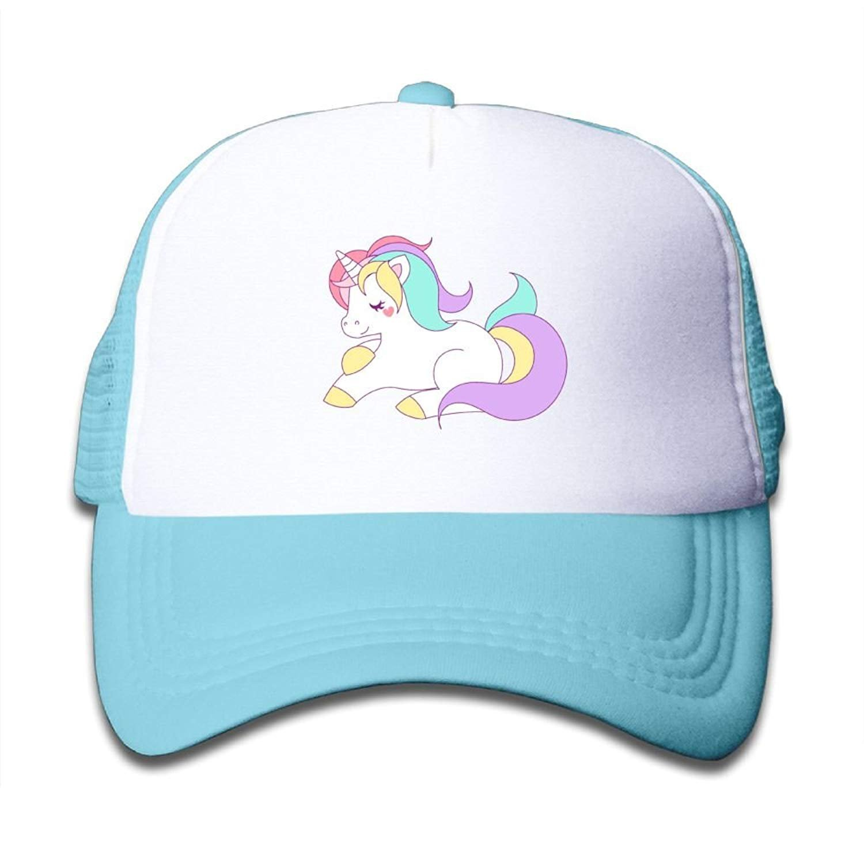 Jimmy P Gorras de béisbol niño y niña, con diseño de Unicornio y ...