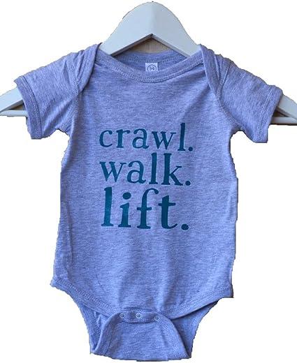 crawl walk lift infant bodysuit gym baby one piece