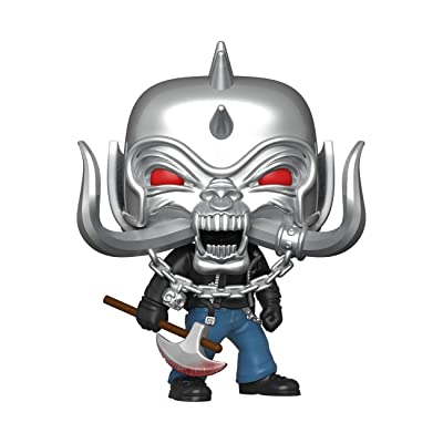 Funko Pop! Rocks: Motorhead - Warpig, Multicolor: Toys & Games