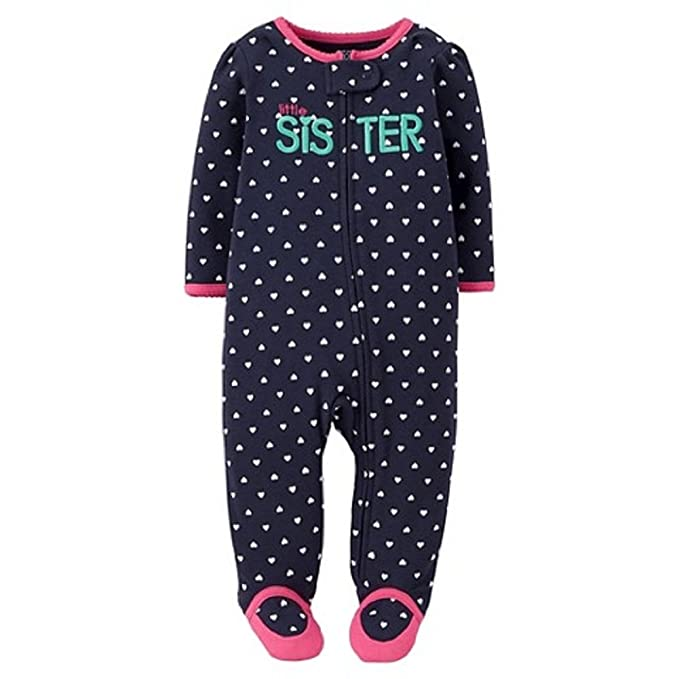 fa34476c0 Amazon.com: Carter's Just One You Baby Girls' Sister Sleep N' Play ...