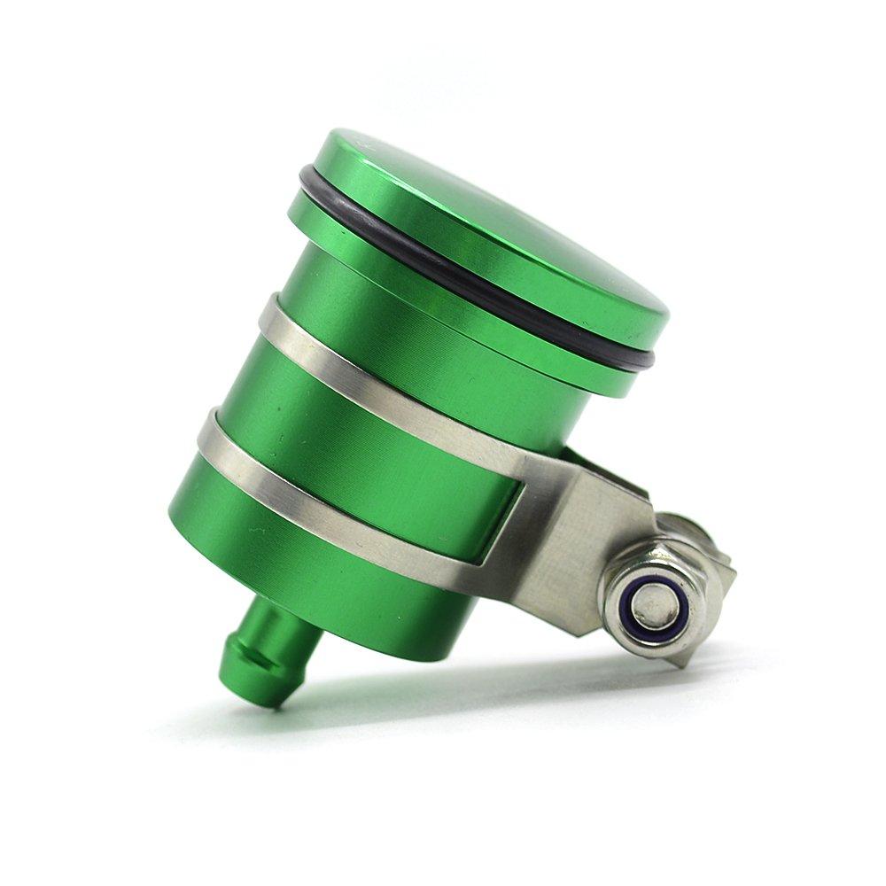 Universal CNC Aluminum Brake Fluid Reservior Cylinder for Ducati Street Fighter 696 796 796 848 S4RS 999 998 996//1050 1090 1190 1290 ADVENTURE//GSXR 600 750 1000 GSR 600 750 1000 Silver