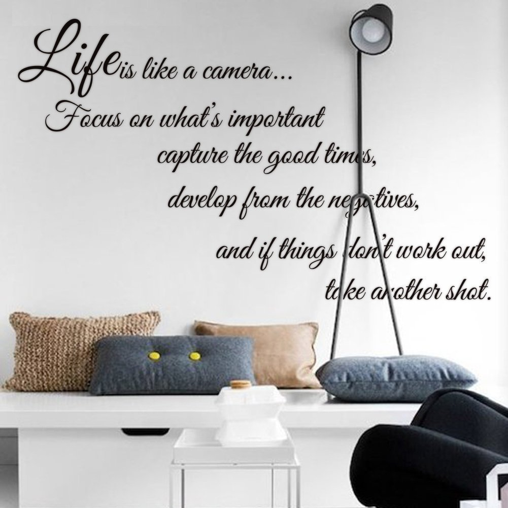 decor wall quotes living of home glamorous gallery decals family design simple room inspirational
