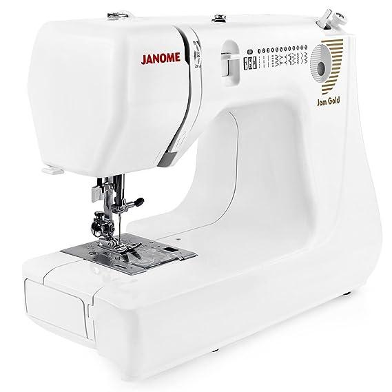 Amazon Janome Jem Gold 40 Lightweight Sewing Machine Awesome Best Janome Sewing Machine For Dressmaking