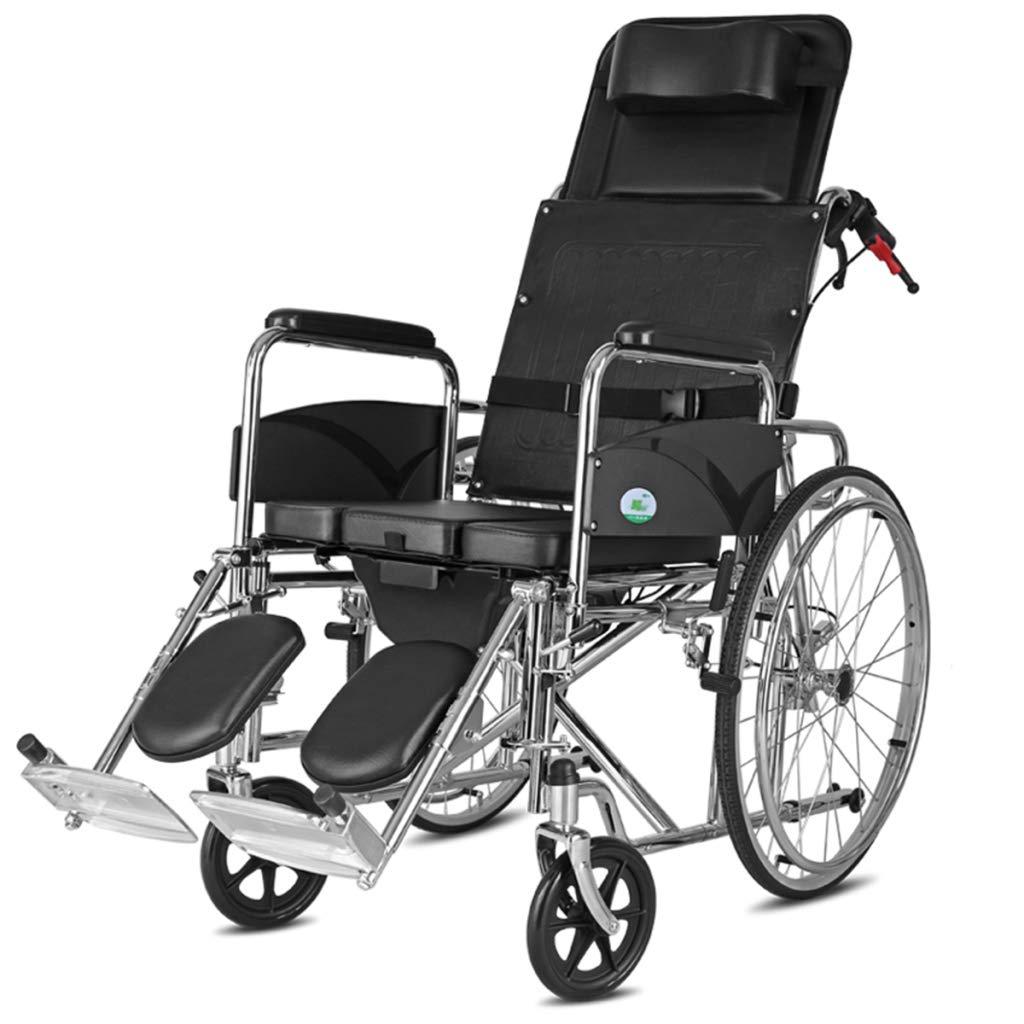 直送商品 HSBAIS 輸送車椅子 B07NLXH5NN、輸送および保管用のポータブル折りたたみ式ハンドブレーキ付き自走式,Black Black Black HSBAIS B07NLXH5NN, マルエツ:c8e2e79b --- a0267596.xsph.ru