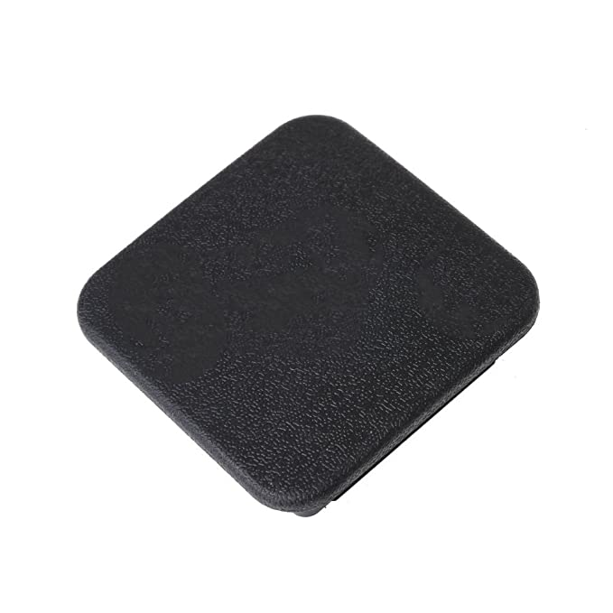 Goodqueen Universal Class IV 2 inch Black Trailer Hitch Cover Plug Receiver Cover Cap Dust Protecter