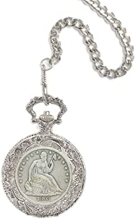 product image for Seated Liberty Half Dollar Pocket Watch