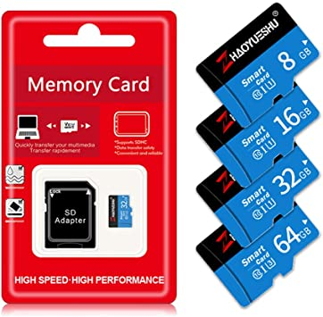 BAIYI Tarjeta de 8 GB 16 GB Micro SD de 32 GB 64 GB 128 GB