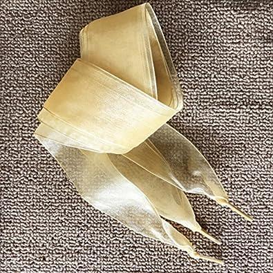 OuYou 1 Parie Lacets de Ruban Satin Soies Plat Sport Polyester Dentelle Cordons Chaussures Fille Femme Mode Enfants et Adulte 110cm X 4cm