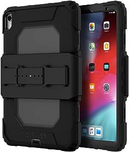 Griffin Survivor All-Terrain (w/Hand Strap) for iPad Pro 11-inch (2018), Black