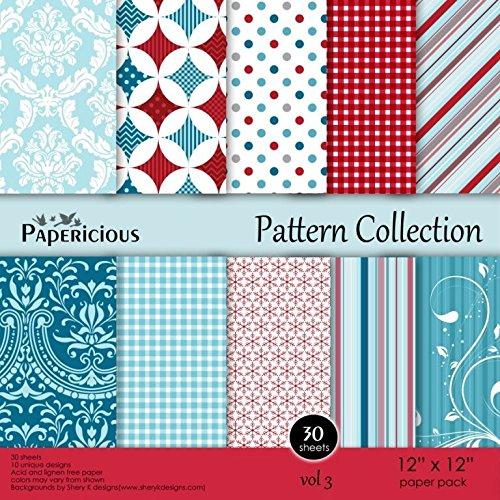 Craftsneedpapericiousdesigner Pattern Collection Vol3 12x12