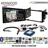Kenwood Excelon DNX694S Double Din Radio Install Kit with GPS Navigation System Android Auto Apple CarPlay Fits 2003-2005 Chevrolet Blazer, 2003-2006 Silverado, Suburban (Bose and Onstar)