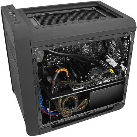 Nox Coolbay CX - NXCBAYCX - Caja PC, Micro ATX, USB 3.0, Color Negro: Amazon.es: Informática