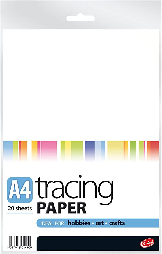 school//office use A3 62gsm tracing paper//pad 30 sheets lightweight transparent