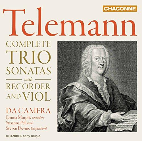 Telemann: Complete Trio Sonatas with Recorder & -