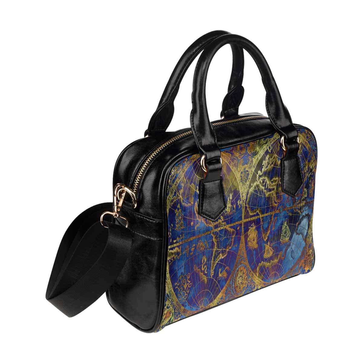 InterestPrint Womens Top Handle PU Leather Shoulder Satchel Bag