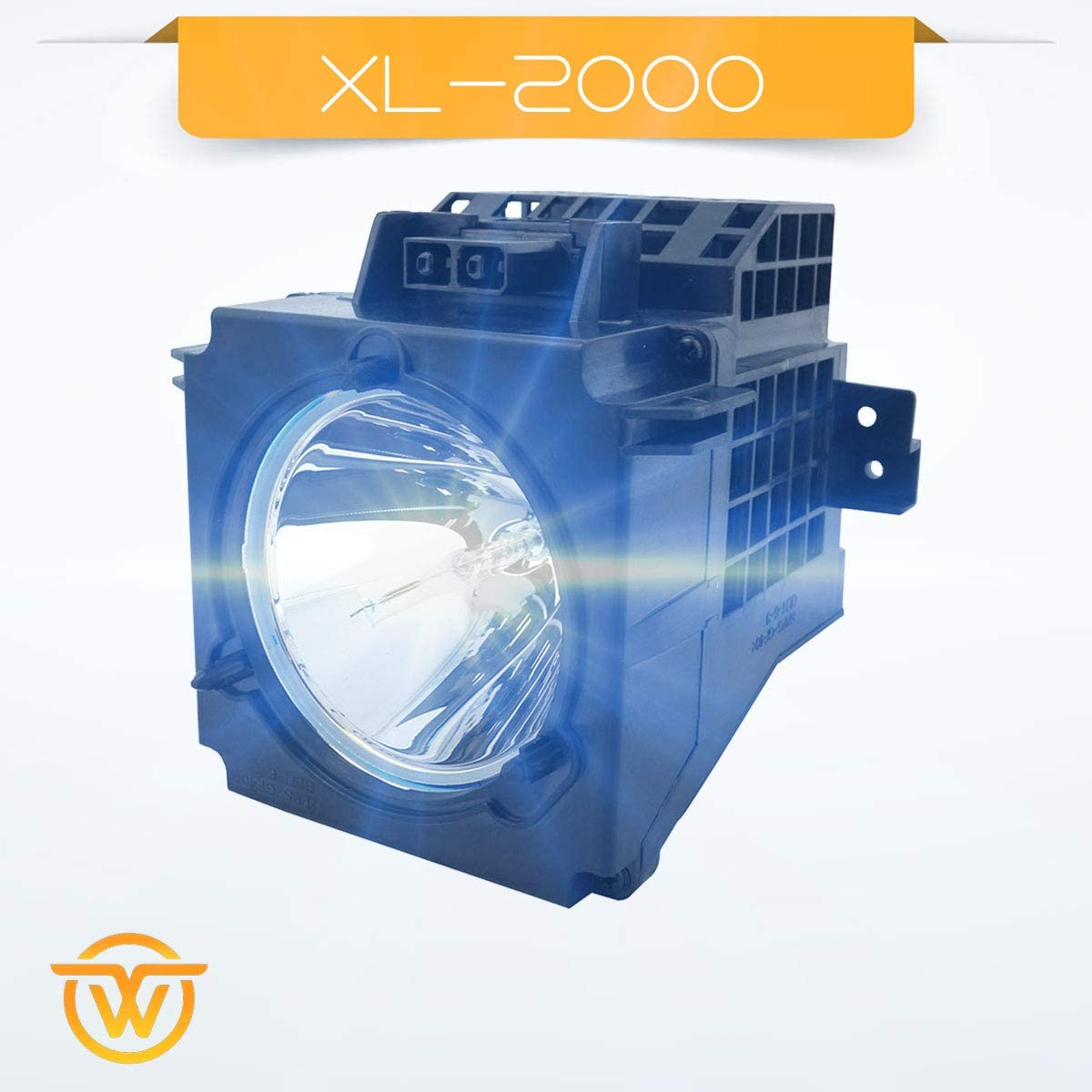 A-1601-753-A fits KF-60XBR800 KF-60DX100 KF-50XBR800 YWO Replacement Bulb with Enclosure for Sony TV XL-2000