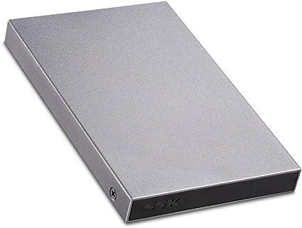 Amazon.com: SSK - Adaptador de carcasa para disco duro ...