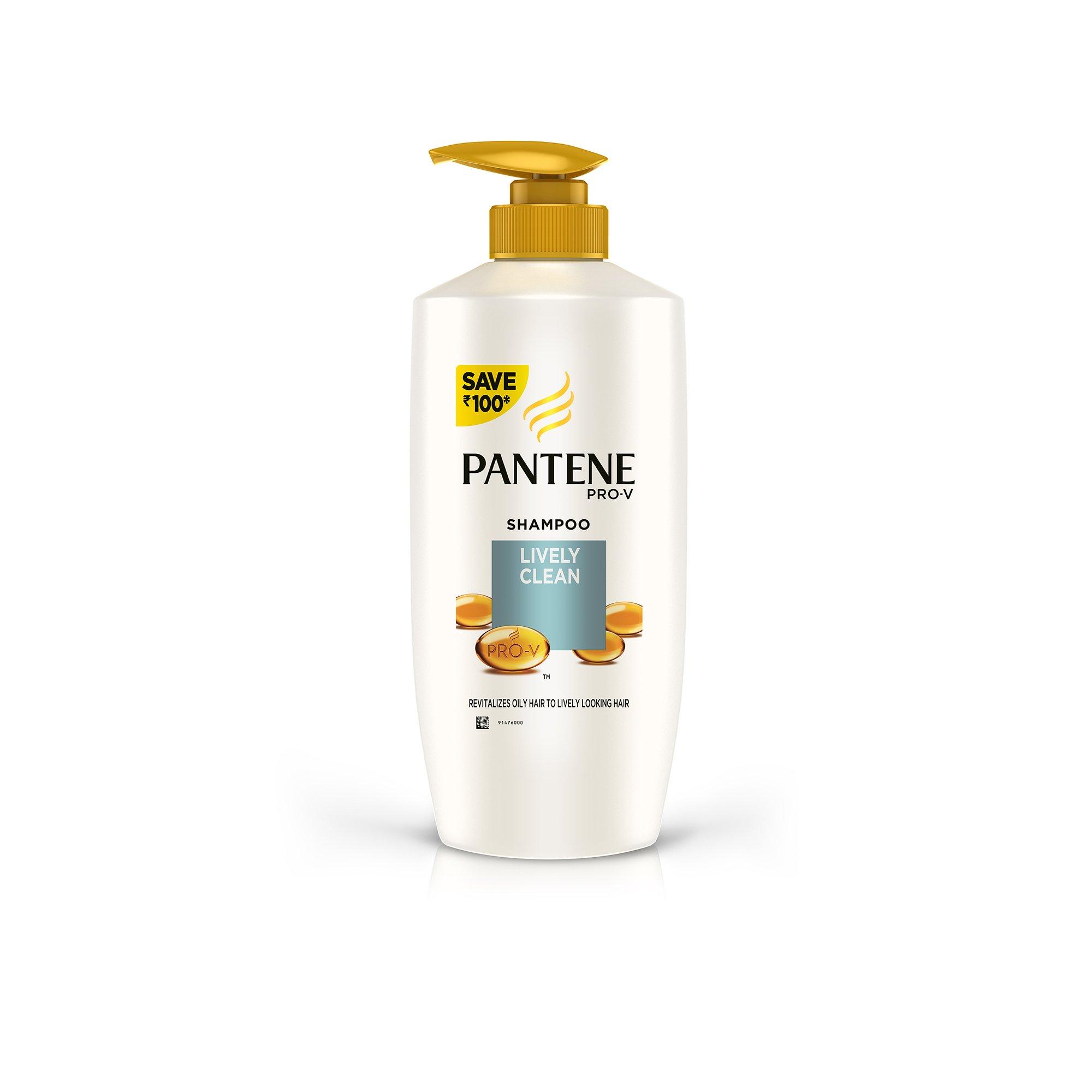 Pantene Lively Clean Shampoo, 675ml product image