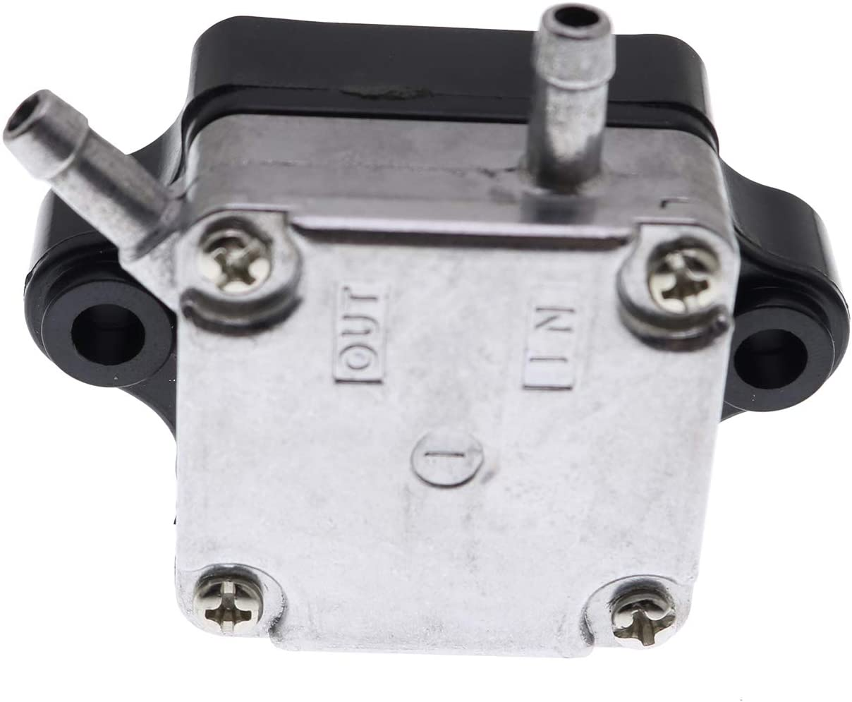 Yixin Fuel Pump 66M-24410-10-00 66M-24410-11-00 835389T1 835389A2 Fit for Yamaha Mercury 4-Stroke 9.9HP 13.5HP 15HP F9.9 F13.5 F15 Outboard Motor Sierra 18-35302