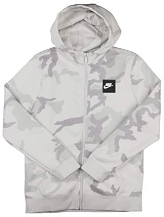 f3936d0aad168 Amazon.com: Nike Boys Camo Club Full Zip Hoodie: Clothing