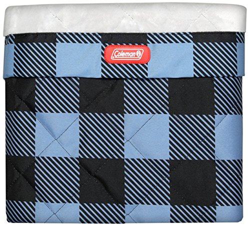 Coleman Dog Quilted Plush Travel Pet, Blue Plaid, Mat 27'' x 36''' by Coleman (Image #1)