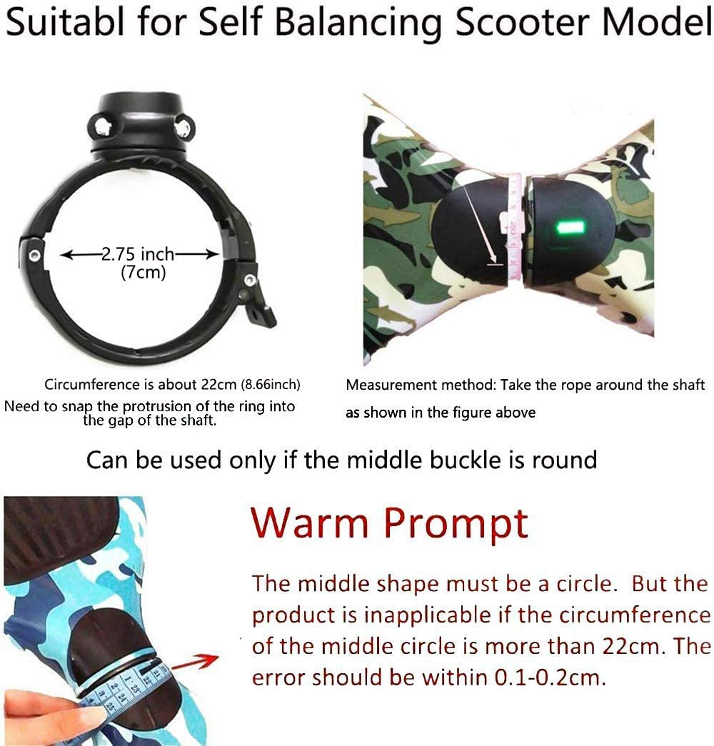 YCDTMY Balancing Scooter Handle Control Strut Stent for 6.5 7 10 Electric Self Balancing Scooter