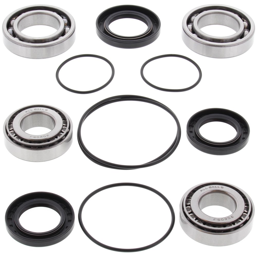 All Balls 25-2093 Front Differential Bearing and Seal Kit All Balls Racing