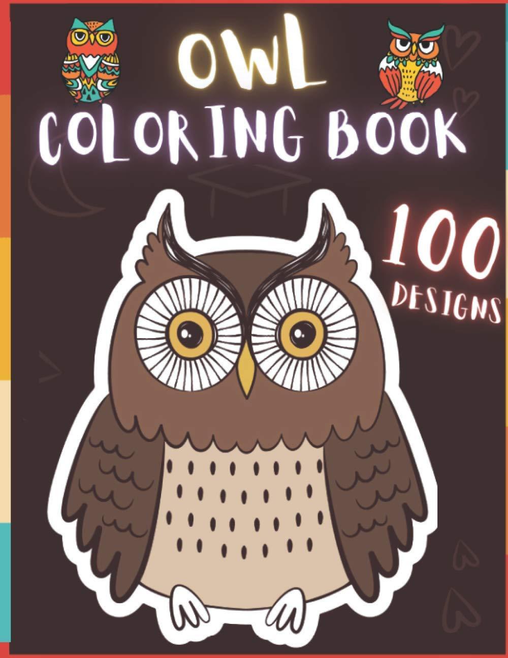 Amazon.com Owl Coloring Book 18 Creative And Unique Owl ...
