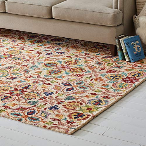 Rugs Area Persian Wool - Stone & Beam Vinton Persian Wool Area Rug, 8' x 10'6