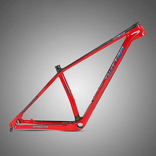 Zxllyntop Marco de Bicicleta Marco de montaña de Fibra de Carbono ...