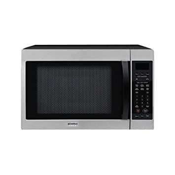 kenmore elite convection microwave. kenmore elite stainless steel w/black 1.5 cu. ft. convection microwave 67903 e
