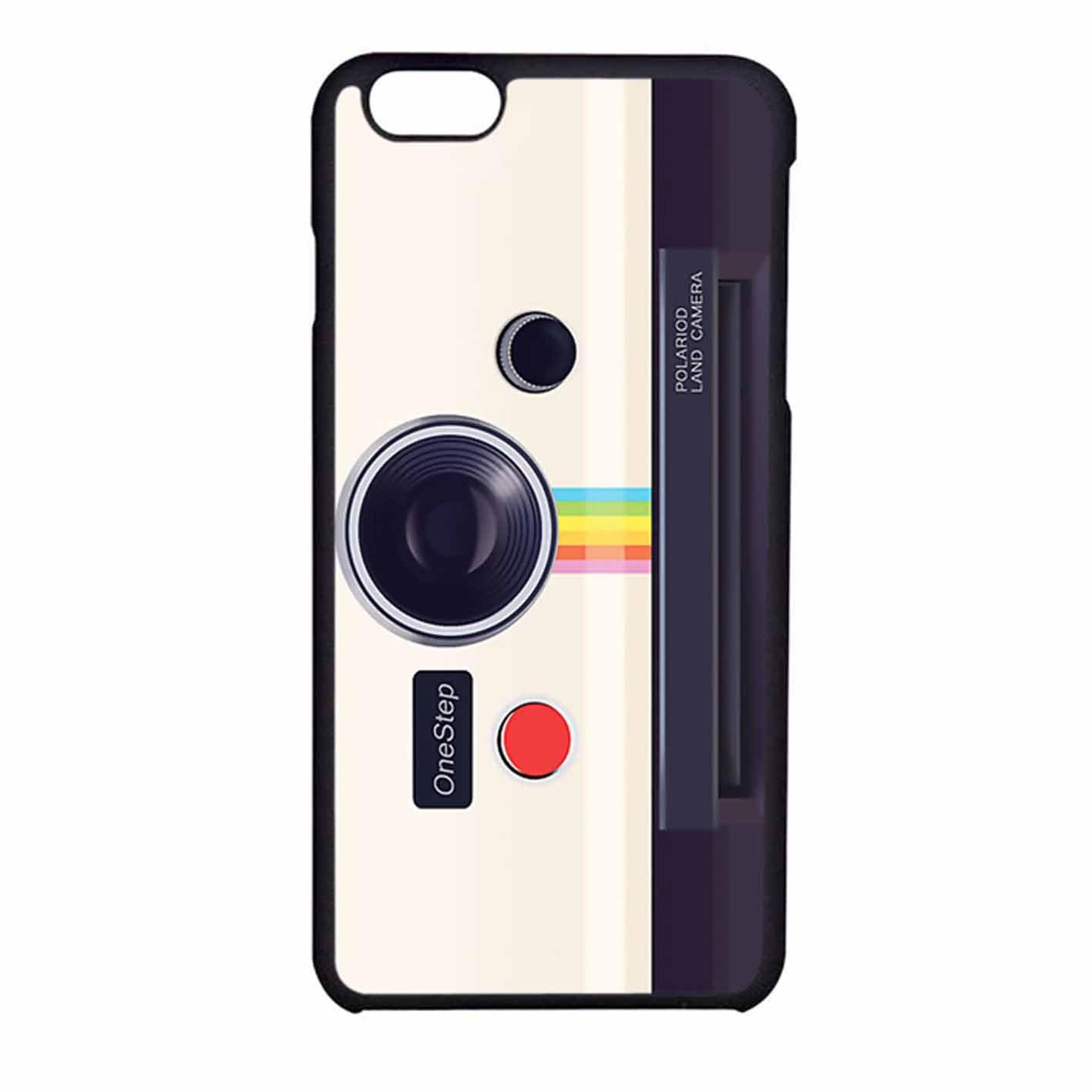 factory authentic 52939 663f2 Polaroid Land Camera iPhone 6 Case / iPhone 6s Case Black Plastic ...