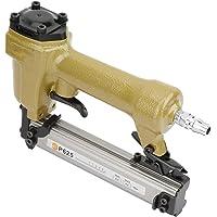 Pistola de clavos neumática, remachadora de grapadora de clavos de aire para clavos de grano 100pcs longitud de clavadora de aire…