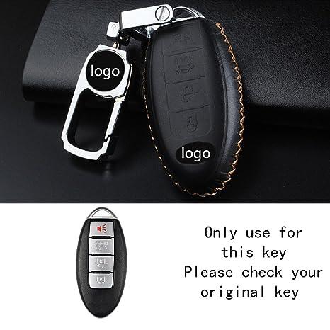 Amazon.com: raoping para llaves de coche (Piel Cadena ...
