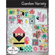 "Garden Variety Gnome Quilt Pattern by Swirly Girls Designs 52"" x 56"""