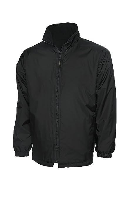 97981d197 UC606 - Childrens Reversible Fleece Jacket (300 GSM) - Black - Child ...