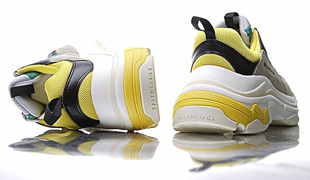 sneakershop Balenciaga Triple-S Sneaker - Zapatillas para Mujer Amarillo Amarillo Amarillo Size: 39 EU: Amazon.es: Zapatos y complementos
