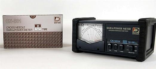 Amazon.com: DAIWA CN-501H 1.8-150 MHz CROSS-NEEDLE SWR/POWER METER W/ SO239s: GPS & Navigation