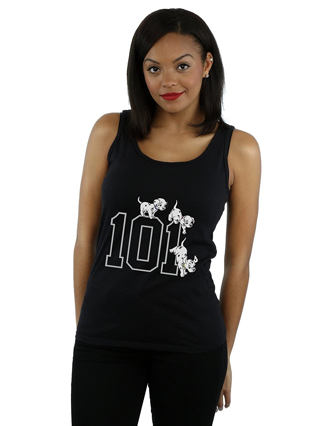 Disney Women's 101 Dalmatians 101 Doggies Tank Top Absolute Cult