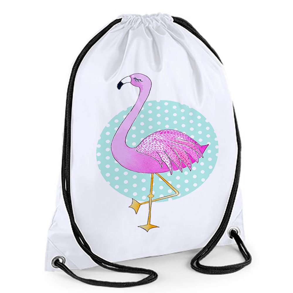 Filles, des Sacs de bain pour filles Sac de sport, Flamingo Nager Sac, Flamingo, cadeaux, filles Sacs d'école, Adorable, Sac de bain filles Sacs d' école tigerlilyprints