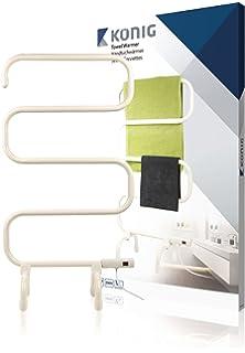 König KN-TH10 100W Color blanco secadora eléctrica para toallas - Secador de toallas (