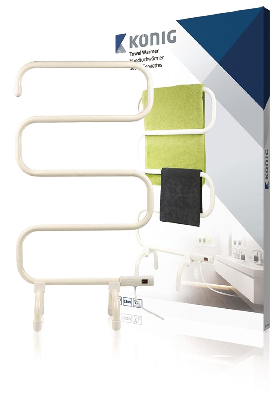 König KN TH W Color blanco secadora eléctrica para toallas Secador de