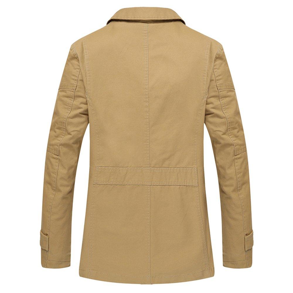 7a4d76070895 Bee Late Men s Military Jacket Lightweight Windproof Windbreaker   Amazon.co.uk  Clothing