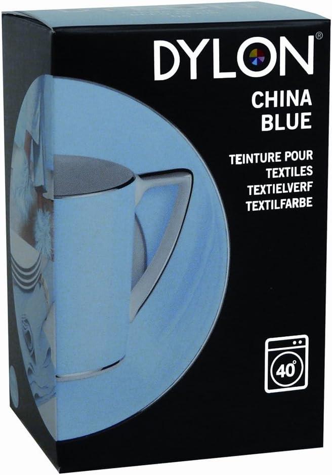 Dylon - Tinte para teñir Tejidos a máquina (200 g), Color Azul Claro
