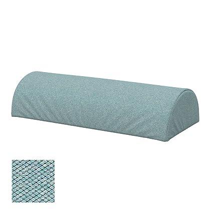 Soferia - IKEA BEDDINGE Funda para Cojín, Forma Semicircular ...